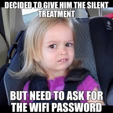 Silent Treatment Meme - memes bibble inicio facebook