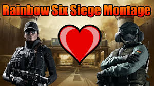 rainbow six siege montage love ash and jager youtube