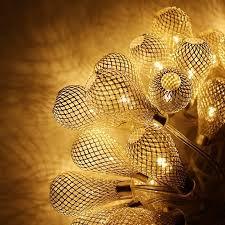 Led Christmas Lights Walmart Mesh Ball Battery Operated Fairy String Lights Led Christmas