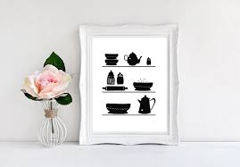 black and white kitchen framed pictures kitchen shelves black and white 8 x10 wall print