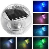 Floating Solar Pond Lights - wholesale floating pond lights buy cheap floating pond lights
