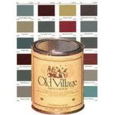 old village 1703qt acrylic latex paint pear wood 1 qt art paints