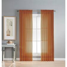 3 Inch Rod Pocket Sheer Curtains Window Elements Sheer Diamond Sheer Voile Extra Wide 84 In L Rod