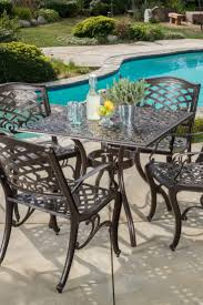 Metal Garden Table And Chairs How To Choose The Best Metal Patio Set Overstock Com