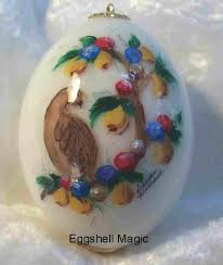 12 days of christmas eggshell magic personalized christmas