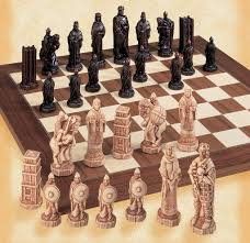 Cool Chess Sets by The Battle Of Hastings Chess Pieces House Of Staunton