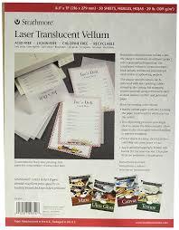 amazon com strathmore laser vellum inkjet paper 8 5