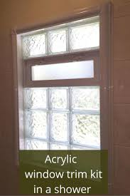 Bathroom Window Trim Window Blinds Shower Window Blinds Bathroom Curtains And