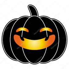 halloween black background pumpkin halloween pumpkin black cartoon logo isolated on white background