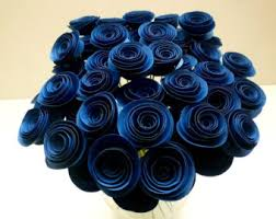 blue centerpieces navy blue wedding etsy