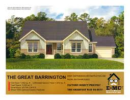 Barrington Floor Plan by The Great Barrington Einstein Modular Constuction