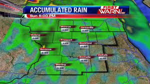 Rainfall Totals Map First Warn Weather Team Timing Out Rain And Storms