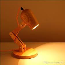 Wooden Table Lamp 2017 Creative Desk Lamp Scandinavian Style Wood Table Lamp Wooden