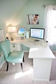 sleek desk elegant green leather chair and sleek white corner computer desk for