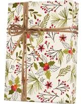 botanical wrapping paper here s a great price on christmas polka dots reversible wrapping