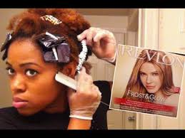 highlights vs frosting of hair revlon frost and glow on natural hair foil highlights at home