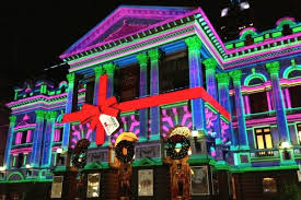 the house of lights melbourne melbourne town hall christmas lights architectureau