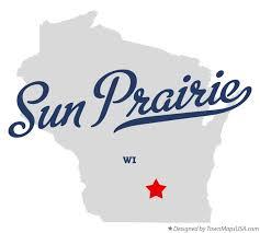 map of sun prairie wi wisconsin