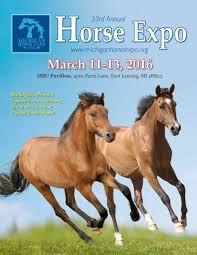 Overhead Door 65b by 2016 Mhc U0027s Michigan Horse Expo Program By Saddle Up Magazine Issuu