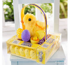 peeps easter basket easter basket and party ideas party city party city