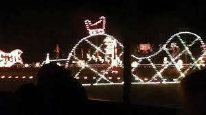 christmas lights train ride meadow lights train ride 2010 youtube
