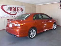 toyota ww 2013 orange toyota corolla s arleta auto sales