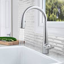 polished chrome lita with xtract 1 handle pull down kitchen