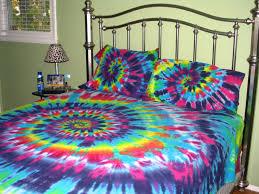 sweet dreams spiral tie dye 100 organic cotton sheet by tiedyetodd