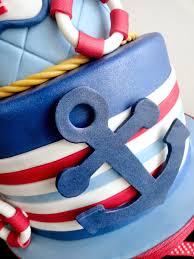 nautical cake pink cake nautical theme 1st birthday cake