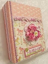 baby girl scrapbook album tphh premade handmade baby boy scrapbook album byterri b 29 95