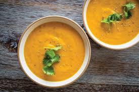 chia coconut carrot soup recipe epicurious