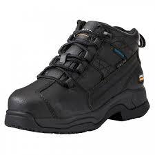 womens steel toe work boots near me ariat s h20 steel toe contender work boots matte black