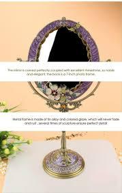 Antique Vanity Mirror Idea New Vintage Cosmetic Mirror Desktop Antique Compact