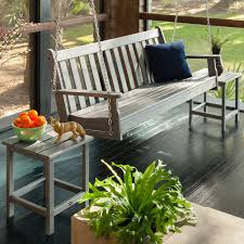 Interesting Composite Outdoor Furniture U2014 Polywood Vineyard Recycled Plastic 5 Ft Porch Swing Hayneedle