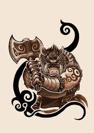 boar tattoo design by k hots deviantart com on deviantart