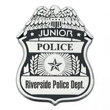 plastic junior police badge personalization available positive