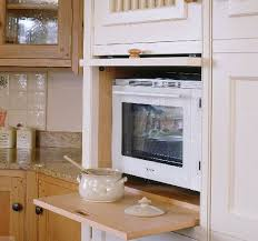 Hide Microwave In Cabinet Kitchen Storage Furniture Microwave Storage Decorations