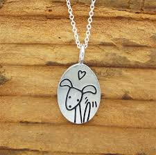 dog necklace pendant images Pewter puppy necklace jpg