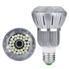 Infrared Led Light Bulb by Motion Detecting Wifi Connected Light Bulb Cameras A