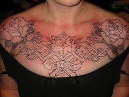 25 trending women chest tattoos ideas on pinterest cool chest