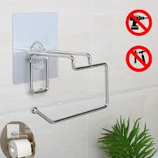 Toilet Paper Roll Storage by Wall Mount Paper Towel Holder With Shelf Towel