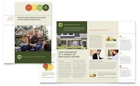 bed u0026 breakfast motel tri fold brochure template design by