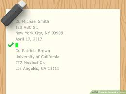 Business Letter Spacing Uk 5 Clear And Easy Ways To Format A Letter Wikihow