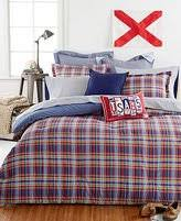 Twin Plaid Comforter Amazon Com Tommy Hilfiger Stanford Plaid Comforter Set Twin