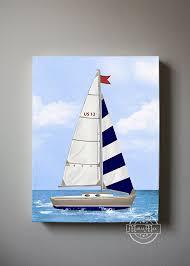 Sailboat Decor For Nursery Nursery Nautical Sailboat Baby Nursery Room Decor Nautical