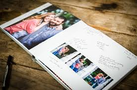 wedding guest book photo album leather wedding guestbook albums adam nash photography
