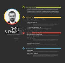 Free Colorful Resume Templates Vector Minimalist Cv Resume Template Minimalistic Colorful