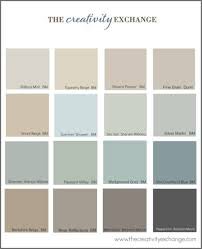 little french farmhouse popular paint colors all blend well