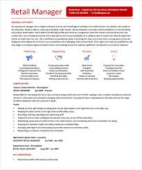 Resume Definition Job by Sample Store Manager Resume 10 Free Documents In Pdf