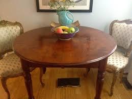 kitchen table oak double pedestal dining table antique loccie better homes gardens